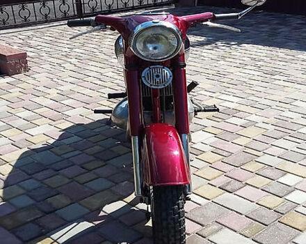 Вишневий ЯВА 350, об'ємом двигуна 0 л та пробігом 20 тис. км за 1200 $, фото 1 на Automoto.ua