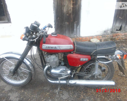 Червоний ЯВА 350, об'ємом двигуна 0.35 л та пробігом 1 тис. км за 569 $, фото 1 на Automoto.ua
