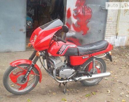 Красный ЯВА 634, объемом двигателя 0.35 л и пробегом 3 тыс. км за 500 $, фото 1 на Automoto.ua