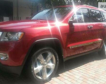 Червоний Джип Grand Cherokee, об'ємом двигуна 3.6 л та пробігом 60 тис. км за 28000 $, фото 1 на Automoto.ua