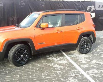 Оранжевый Джип Ренегат, объемом двигателя 2.4 л и пробегом 47 тыс. км за 16300 $, фото 1 на Automoto.ua