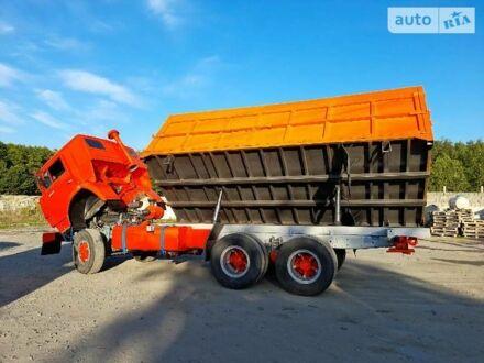 Оранжевый КамАЗ 53202, объемом двигателя 14.86 л и пробегом 2 тыс. км за 16500 $, фото 1 на Automoto.ua