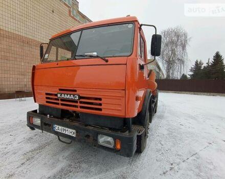 Оранжевый КамАЗ 53215, объемом двигателя 11 л и пробегом 8 тыс. км за 35555 $, фото 1 на Automoto.ua