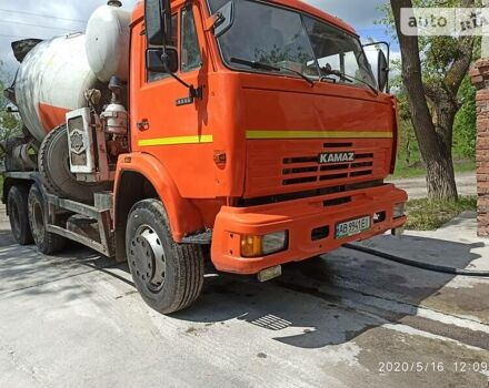Оранжевый КамАЗ 53229, объемом двигателя 10.8 л и пробегом 210 тыс. км за 20000 $, фото 1 на Automoto.ua