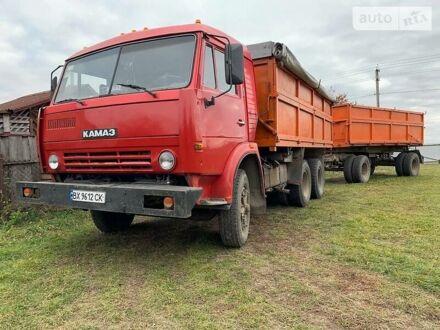 Красный КамАЗ 55102, объемом двигателя 11 л и пробегом 383 тыс. км за 10500 $, фото 1 на Automoto.ua