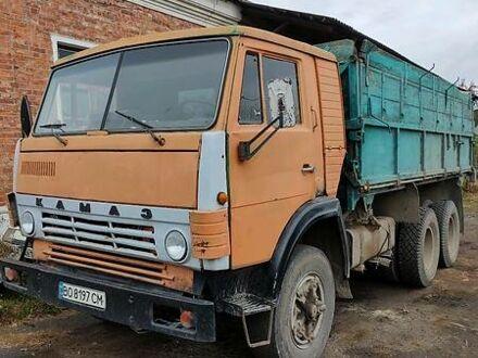 Оранжевый КамАЗ 55102, объемом двигателя 15 л и пробегом 100 тыс. км за 5800 $, фото 1 на Automoto.ua