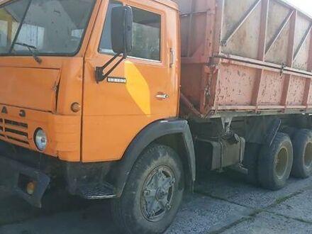 Оранжевый КамАЗ 55102, объемом двигателя 11 л и пробегом 100 тыс. км за 6500 $, фото 1 на Automoto.ua