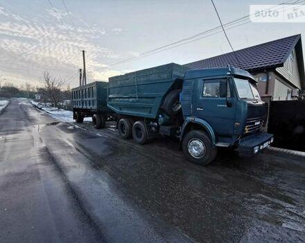 Зеленый КамАЗ 5511, объемом двигателя 14.86 л и пробегом 120 тыс. км за 14500 $, фото 1 на Automoto.ua