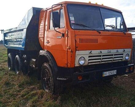 Оранжевый КамАЗ 5511, объемом двигателя 11 л и пробегом 37 тыс. км за 6500 $, фото 1 на Automoto.ua