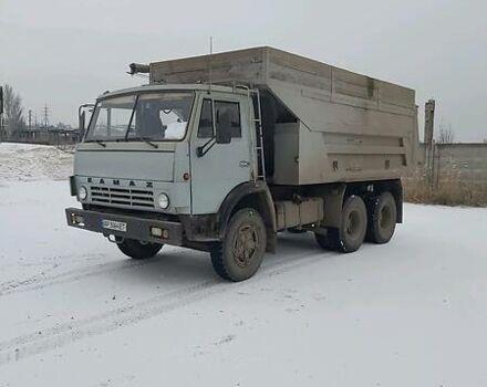 Серый КамАЗ 55111, объемом двигателя 11 л и пробегом 100 тыс. км за 12000 $, фото 1 на Automoto.ua