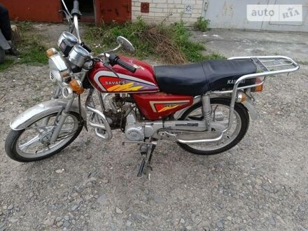 Красный Кануни Сэвэдж, объемом двигателя 0.72 л и пробегом 8 тыс. км за 335 $, фото 1 на Automoto.ua