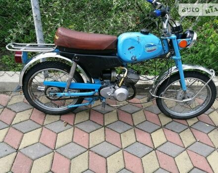 Синий Карпаты В-50, объемом двигателя 0.05 л и пробегом 1 тыс. км за 3000 $, фото 1 на Automoto.ua