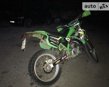 Зелений Кавасакі KDX, об'ємом двигуна 0.12 л та пробігом 1 тис. км за 1450 $, фото 1 на Automoto.ua
