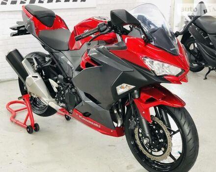 Красный Кавасаки Ниндзя, объемом двигателя 0.4 л и пробегом 6 тыс. км за 5500 $, фото 1 на Automoto.ua