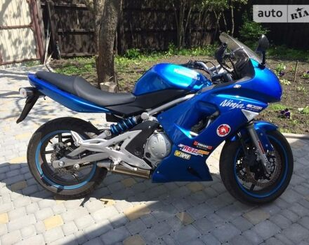 Синій Кавасакі Ніндзя, об'ємом двигуна 0.65 л та пробігом 8 тис. км за 4400 $, фото 1 на Automoto.ua