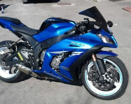 Синій Кавасакі Ніндзя, об'ємом двигуна 0 л та пробігом 15 тис. км за 5300 $, фото 1 на Automoto.ua