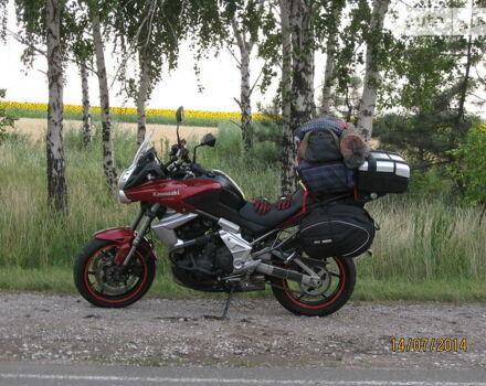 Червоний Кавасакі Версіс, об'ємом двигуна 0.65 л та пробігом 15 тис. км за 6500 $, фото 1 на Automoto.ua