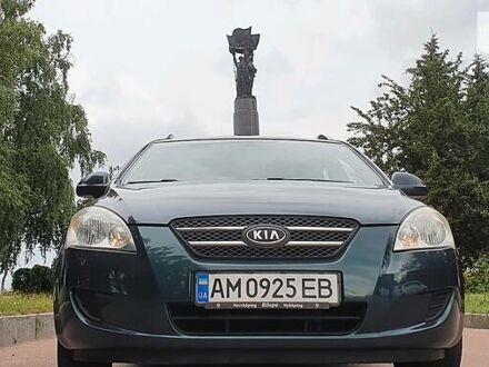 Зеленый Киа Сид, объемом двигателя 1.6 л и пробегом 197 тыс. км за 6900 $, фото 1 на Automoto.ua