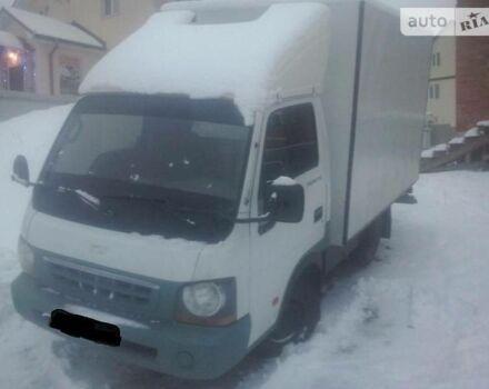 Белый Киа К2500, объемом двигателя 2.5 л и пробегом 200 тыс. км за 4100 $, фото 1 на Automoto.ua