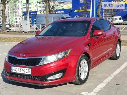 Красный Киа Оптима, объемом двигателя 2.4 л и пробегом 190 тыс. км за 8900 $, фото 1 на Automoto.ua