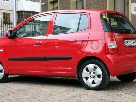 Червоний Кіа Піканто, об'ємом двигуна 1.1 л та пробігом 92 тис. км за 4800 $, фото 1 на Automoto.ua