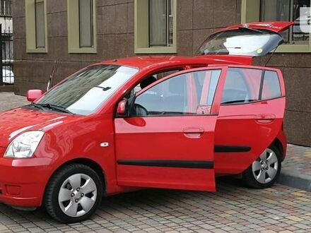 Красный Киа Пиканто, объемом двигателя 1.1 л и пробегом 92 тыс. км за 4600 $, фото 1 на Automoto.ua