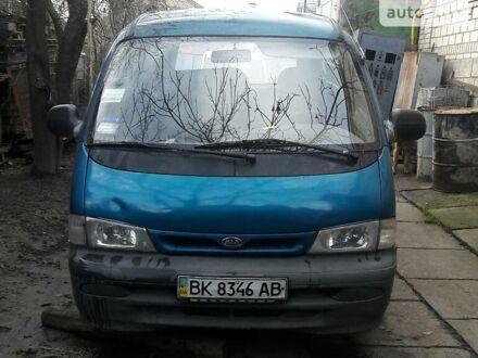 Синій Кіа Преджіо вант., об'ємом двигуна 2.7 л та пробігом 420 тис. км за 1250 $, фото 1 на Automoto.ua