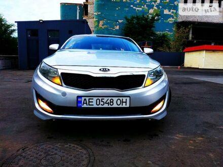 Серый Киа K5, объемом двигателя 2 л и пробегом 520 тыс. км за 8700 $, фото 1 на Automoto.ua