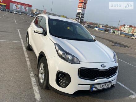 Белый Киа Sportage, объемом двигателя 2 л и пробегом 92 тыс. км за 17900 $, фото 1 на Automoto.ua