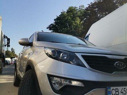 Серый Киа Sportage, объемом двигателя 2 л и пробегом 160 тыс. км за 13500 $, фото 1 на Automoto.ua