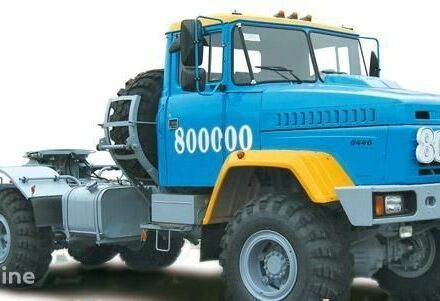 Голубий КрАЗ 6446, об'ємом двигуна 0 л та пробігом 1 тис. км за 0 $, фото 1 на Automoto.ua