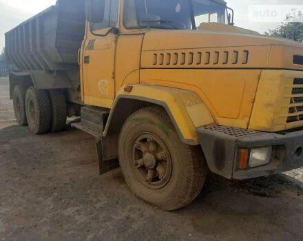 Оранжевый КрАЗ 6510, объемом двигателя 15 л и пробегом 300 тыс. км за 12000 $, фото 1 на Automoto.ua