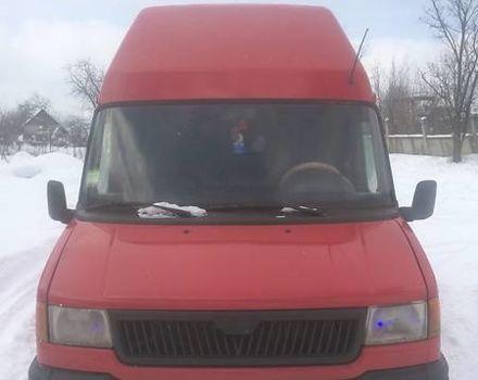 Червоний ЛДВ Конвой вант., об'ємом двигуна 2.5 л та пробігом 255 тис. км за 3500 $, фото 1 на Automoto.ua