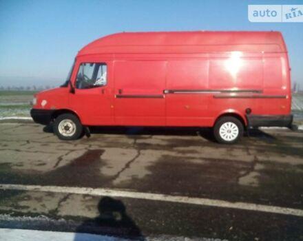 Червоний ЛДВ Конвой вант., об'ємом двигуна 2.4 л та пробігом 275 тис. км за 5500 $, фото 1 на Automoto.ua