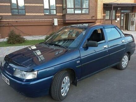 Синий Лада 2110, объемом двигателя 1.6 л и пробегом 170 тыс. км за 3299 $, фото 1 на Automoto.ua