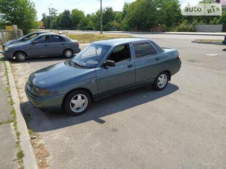 Зеленый Лада 2110, объемом двигателя 1.6 л и пробегом 154 тыс. км за 3200 $, фото 1 на Automoto.ua