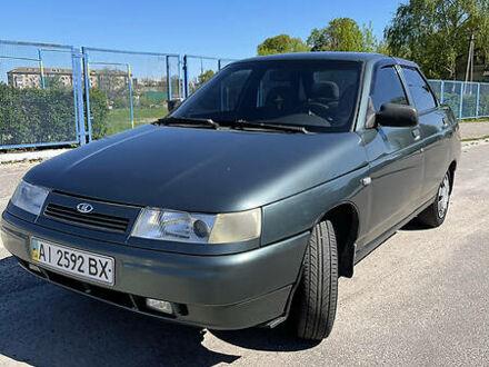 Зеленый Лада 2110, объемом двигателя 1.6 л и пробегом 164 тыс. км за 3000 $, фото 1 на Automoto.ua