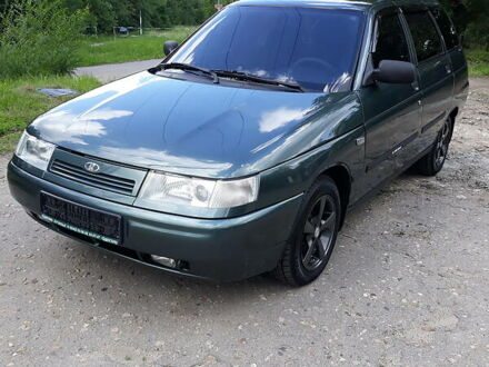 Зеленый Лада 2111, объемом двигателя 1.6 л и пробегом 16 тыс. км за 5400 $, фото 1 на Automoto.ua