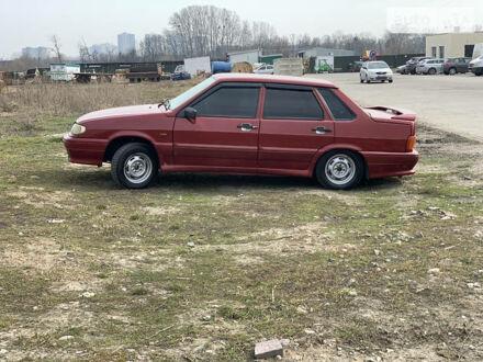 Красный Лада 2115, объемом двигателя 1.6 л и пробегом 170 тыс. км за 3200 $, фото 1 на Automoto.ua
