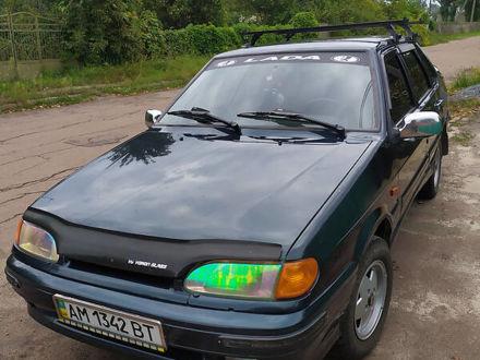 Зелений Лада 2115, об'ємом двигуна 1.6 л та пробігом 150 тис. км за 3500 $, фото 1 на Automoto.ua
