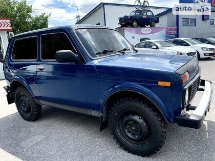 Синий Лада Niva, объемом двигателя 1.7 л и пробегом 87 тыс. км за 4990 $, фото 1 на Automoto.ua