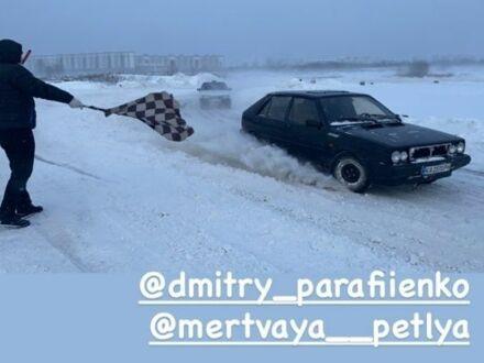 Черный Лянча Дельта, объемом двигателя 1.6 л и пробегом 800 тыс. км за 1000 $, фото 1 на Automoto.ua