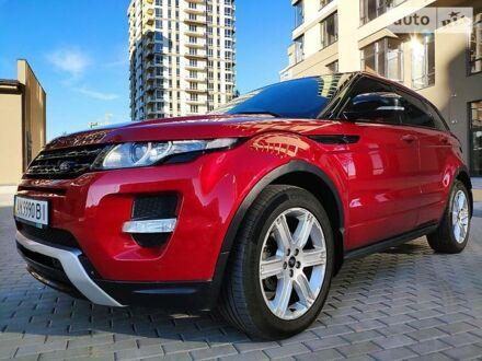 Червоний Ленд Ровер Рендж Ровер Евок, об'ємом двигуна 2.2 л та пробігом 82 тис. км за 25999 $, фото 1 на Automoto.ua