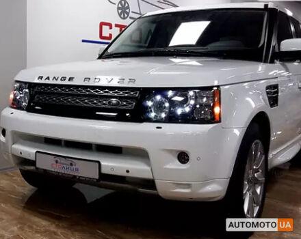 Білий Ленд Ровер Range Rover Sport, об'ємом двигуна 5 л та пробігом 58 тис. км за 41500 $, фото 1 на Automoto.ua
