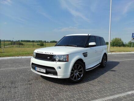 Білий Ленд Ровер Range Rover Sport, об'ємом двигуна 3 л та пробігом 114 тис. км за 29500 $, фото 1 на Automoto.ua