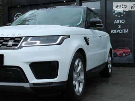Білий Ленд Ровер Range Rover Sport, об'ємом двигуна 3 л та пробігом 18 тис. км за 89900 $, фото 1 на Automoto.ua