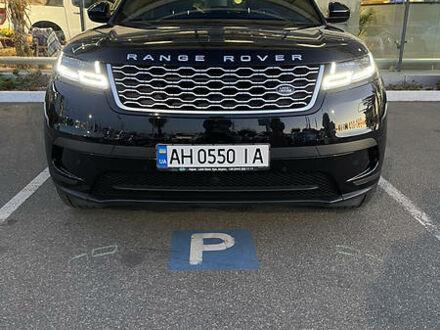 Черный Ленд Ровер Рендж Ровер Велар, объемом двигателя 2 л и пробегом 36 тыс. км за 78000 $, фото 1 на Automoto.ua