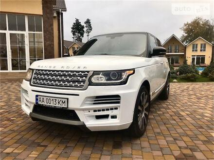 Білий Ленд Ровер Range Rover, об'ємом двигуна 5 л та пробігом 90 тис. км за 70000 $, фото 1 на Automoto.ua