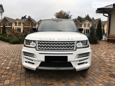 Білий Ленд Ровер Range Rover, об'ємом двигуна 5 л та пробігом 90 тис. км за 68000 $, фото 1 на Automoto.ua