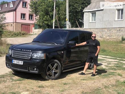 Чорний Ленд Ровер Range Rover, об'ємом двигуна 5 л та пробігом 176 тис. км за 22000 $, фото 1 на Automoto.ua